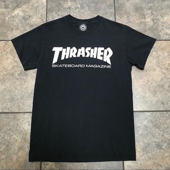 72fb7c399eeb VTG Thrasher Skateboard Magazine T-Shirt Size S. M_5b6ef7a98869f79265804c0f